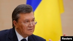 "Ousted Ukrainian President Viktor Yanukovych says the freeze on his assets in Europe violates ""ownership rights"" guaranteed by the EU Charter of Fundamental Rights."