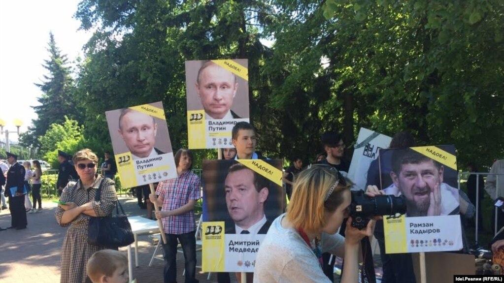 Кадыровцы напали на митинг оппозиции в Чебоксарах и получили достойный отпор