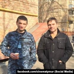 Юрій Федаш (ліворуч) і Роман Семісал. Фото зі сторінки у фейсбуці Тимура Ященка
