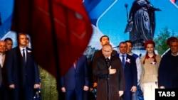 Президент Росії Володимир Путін у Криму, 18 березня 2019 року.