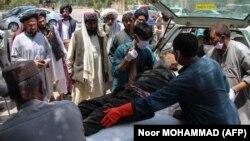 تلفات غیرنظامیان در ولسوالی سنگین هلمند