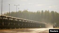 Сталеві труби для трубопроводу Nord Stream 2, архівне фото