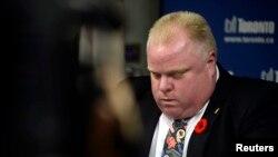 Rob Ford, kreu i Torontos