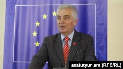 Armenia -- Piotr Switalski, new head of EU delegation in Armenia, undated