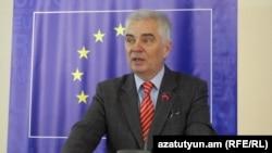 Armenia -- Piotr Switalski, new head of EU delegation in Armenia, undated