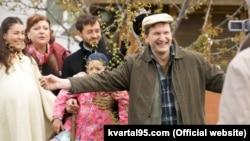Федір Добронравов (праворуч). Фото: Студія «Квартал 95» (kvartal95.com)
