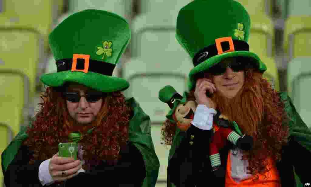 هواداران تیم ملی ایرلند