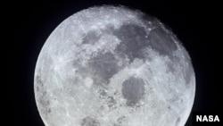 "Вид на Луну. Фото, сделанное участниками экспедиции ""Аполлон-11"""