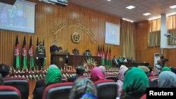 Президент Х.Карзай парламенттин алгачкы жыйынында, 26-январь, 2011