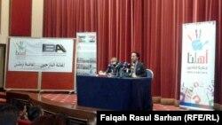 ندوة في عمان للفنان نصير شمة حول حملة اهلنا التي اطلقها لاغاثة النازحين
