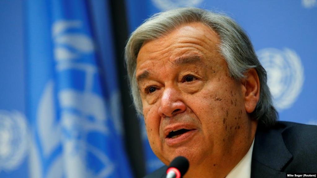 هشدار دبیرکل سازمان ملل نسبت به وقوع جنگ در غزه