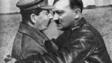 Iosif Stalin și Adolf Hitler, colaj