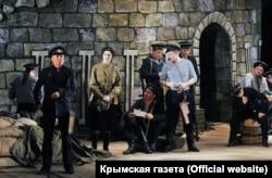 Сцена из героико-исторической оперетты «Севастопольский вальс»