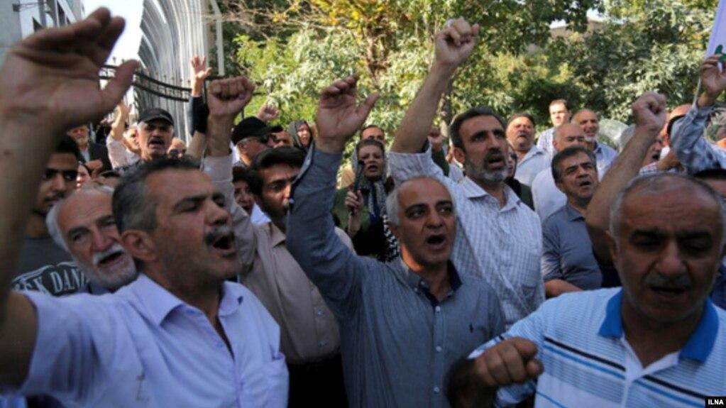 تجمع اعتراضی دهها کارگر علیه «دستاندازی وزارت بهداشت به منابع سازمان تامین اجتماعی»