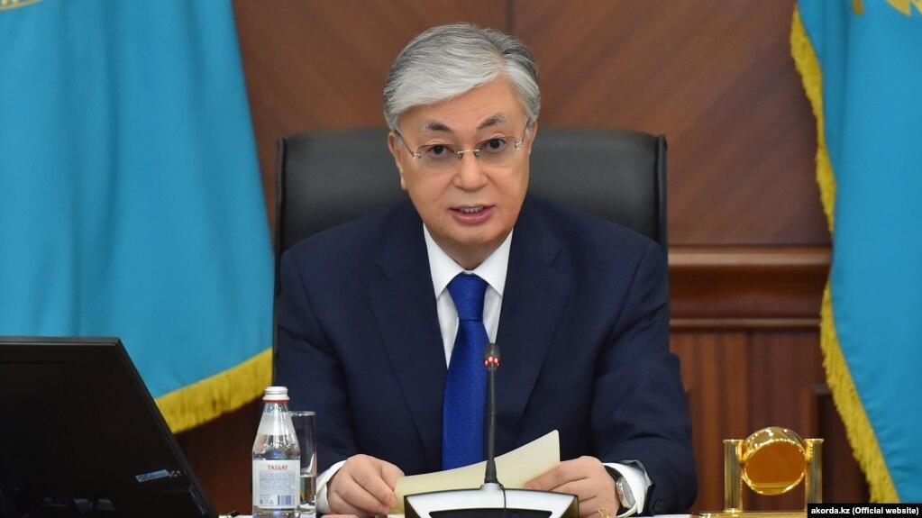 Казакстандын президенти Касым-Жомарт Токаев.