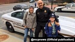 Фото зі сторінки у твітері поліції округу Монтґомері, штат Меріленд, @mcpnews