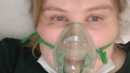 Анастасія Петрова в лікарні