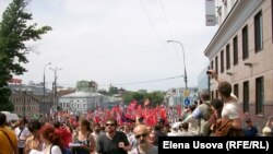 Марш мільёнаў у Маскве 12 чэрвеня 2012