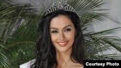 """Антигона Сейдиу из Косово впервые представит свою страну на конкурсе """"Мисс Мира""""."""