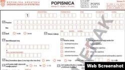 Popisni formular