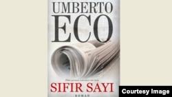 """Umberto Econun Qanun nəşriyyatından çıxan """"Sıfır sayı"""" kitabı."""