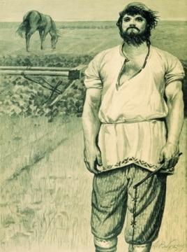 Картина Андрея Рябушкина