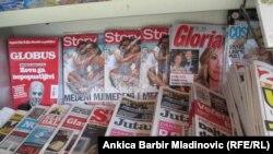 Štampani mediji u Hrvatskoj, ilustrativna fotografija