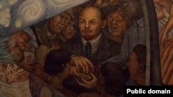Фрагмент фрески Диего Риверы