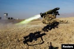 Ракети Javelin в Афганістані, січень 2015 року