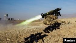 Амэрыканскі ракетны комплекс Javelin у Аўганістане