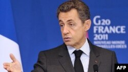 Францускиот претседател Никола Саркози.