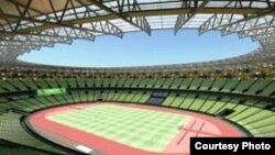 تصميم الملعب الاولمبي في البصرة