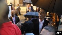 اوباما در شهر قدیم کوبا