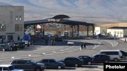 КПП «Баграташен» на армяно-грузинской границе
