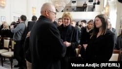 Detalj sa komemoracije Slađani Stanković i Jovici Stepiću