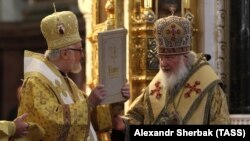 Митрополит Иоанн и Патриарх Кирилл.