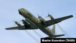 Орусиянын Ил-20 радиоэлектрондук чалгын учагы.