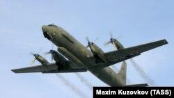 Ресейлік Ил-20 әскери барлау ұшағы. (Көрнекі сурет.)