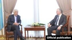 Հայաստանի և Ղազախստանի ԱԳ նախարարների հանդիպումը