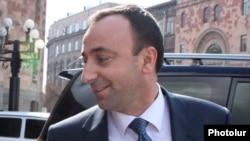 Armenia -- Justice Minister Hrayr Tovmasian.