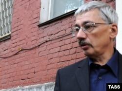 Руководитель «Мемориала» Олег Орлов. Москва, 6 октября 2009 года.