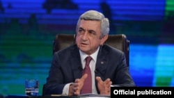 The opposition says the change is intended to allow Armenian President Serzh Sarkisian to continue in power after his second term ends.