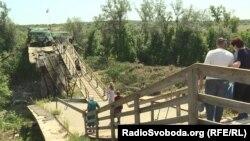 Біля мосту залишаються укріплення бойовиків угруповання «ЛНР»
