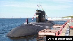Расейская падводная лодка «Стары Аскол», архіўнае фота