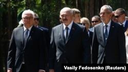Президенты Германии, Белоруссии и Австрии