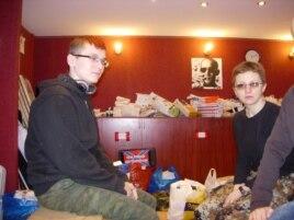 Les combattants pour le bonheur du peuple: Masha et Artem