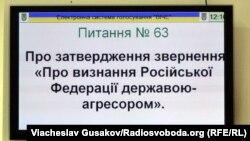 Херсонська міськрада визнала Росію державою-агресором, 31 березня 2015 року