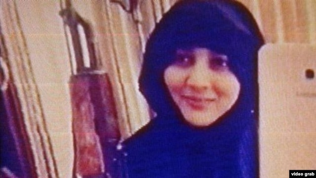 """Zarina Sardorova was accused of using the page, which featured a picture of her brandishing an AK-47 assault rifle, to call on young Tajiks to join """"jihad"""" in Syria and Iraq."""