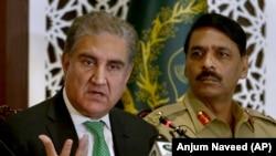 شاه محمد قریشی وزیر خارجه پاکستان