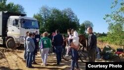 Активисты защищают Колтушские высоты от застройки